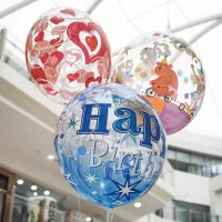 "Helium ""Bubble"" Balloon"