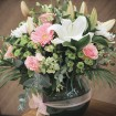 Pretty Bouquet in Fishbowl