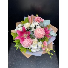 Bouquet Pink/White