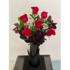 Rose Arrangement (Half Dozen)
